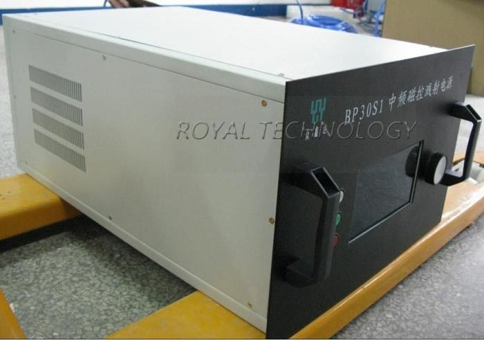 Metal Films Deposition Magnetron Power Supply , DC / MF Sputtering Power Supply