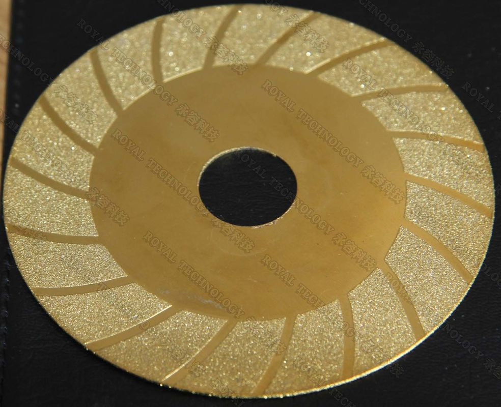 Steel Files and saws PVD Gold Coating Service,  Ceramic Sheets PVD Plating Service from China