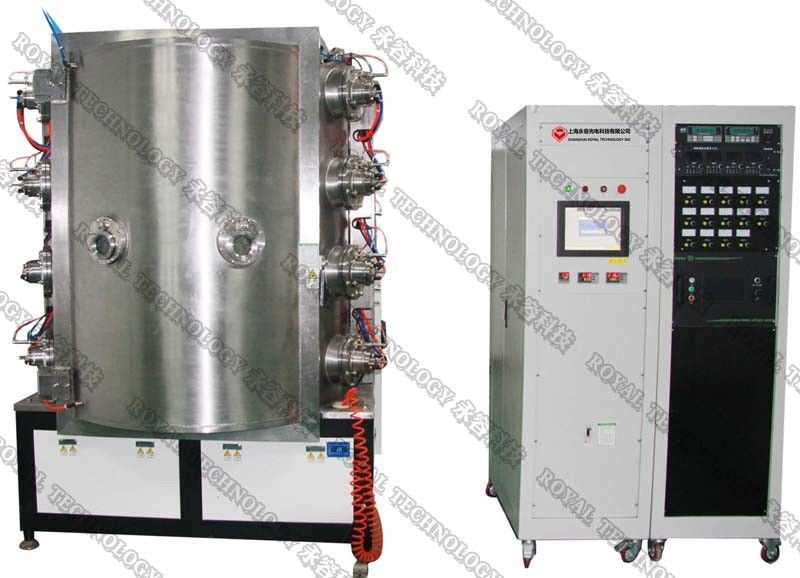 PVD Ion Plating Machine on Ceramic Products,  PVD Plating Machine on Glass Shisha products
