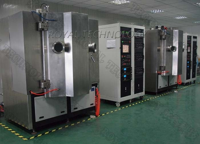 Arc Evaporation PVD Vacuum Plating Machine,  SS sheets Brushing TiN Gold Plating, Matt  Rose Gold Plating